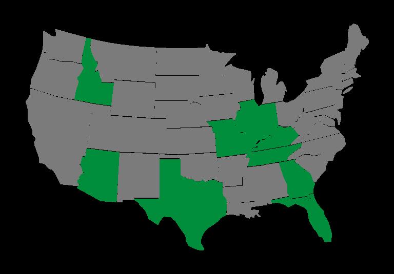 Metro Ag map